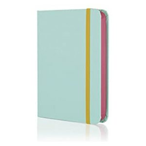 COLOUR BLOCK SMALL NOTEBOOK CANDY BLUE