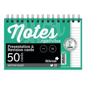 REVISION/PRESENTATION CARDS WHITE PK10