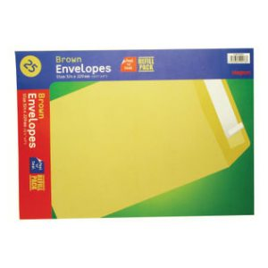 MANILLA ENVELOPES 324X229MM PK25