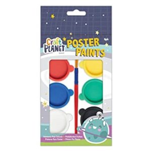 POSTER PAINT 6 PACKS OF 6 PAINTS
