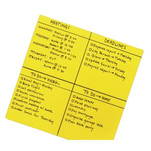 POST-IT SS BIG NOTES 558X558MM YLW PK30
