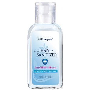 12x FOURPLUS 100ML HAND SANITIZER